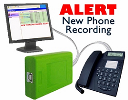 BrickHouseSecurity.com USB Phone Recorder
