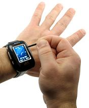 Touchscreen Cell Phone & PDA Wristwatch