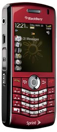 BlackBerry Pearl 8130 Red