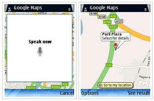 Goole Search by Voice