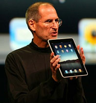 Apple iPad Shown by Steve Jobs