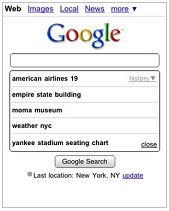 how to erase google search history on phone